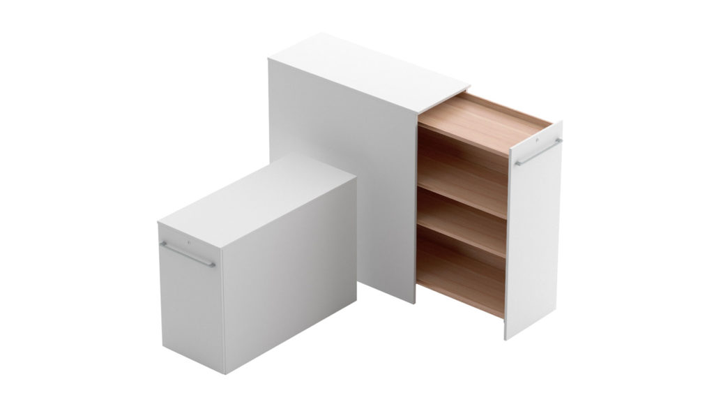 Pull-out cabinets