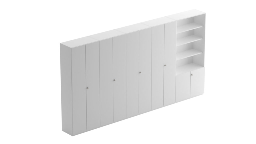 Cabinet and shelf systems